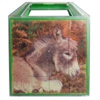 Mesekocka 16 db - Hazai állatok