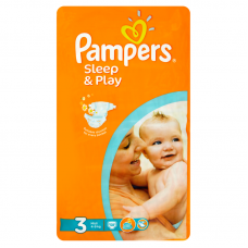 Pampers Sleep&Play 3 Midi (4-9 kg) 58 db