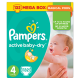 Pampers Active Baby-Dry 4 Maxi (7-14 kg) - 132 db