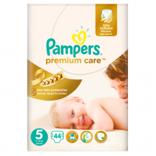 Pampers Premium Care 5 Junior (11-18 kg) - 44 db