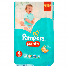 Pampers Pants bugyipelenka 4 Maxi (9-15 kg) - 52 db