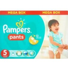 Pampers Pants bugyipelenka 5 Junior (12-17 kg) -  96 db