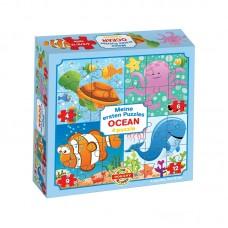 4 in 1 puzzle - Óceán
