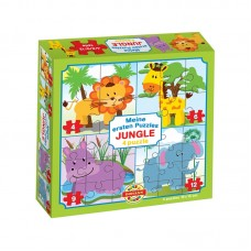 4 in 1 puzzle - Dzsungel