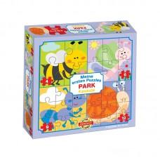 4 in 1 puzzle - Rovarok