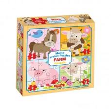 4 in 1 puzzle - Farm