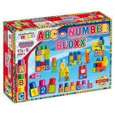 Maxi Bausteine Nagy építőkocka készlet betűkkel és számokkal