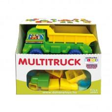 Multi Truck + Maxi Blocks építőkocka