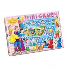 Mini társasjáték - Hófehérke és a hét törpe