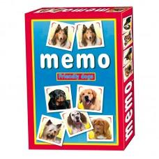 Memóriajáték: Barátságos kutyák