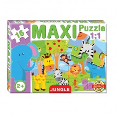 Maxi Puzzle - Dzsungel
