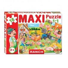 Maxi Puzzle - Háziállatok