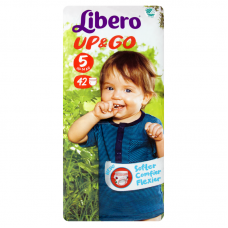 Libero Up&Go 5 (10-14 kg) bugyipelenka - 42 db