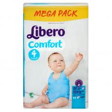 Libero Comfort 4 (7-14 kg)  - 84 db