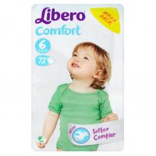 Libero Comfort 6 (12-22 kg) - 72 db