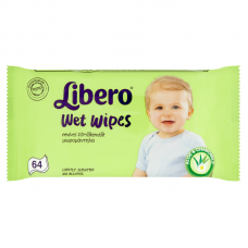 Libero Wet Wipes 64 db