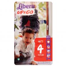Libero Up&Go 4 (7-11 kg) bugyipelenka - 46 db