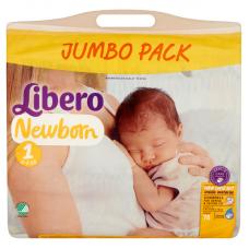 Libero Newborn 1 (2-5 kg) - 78 db