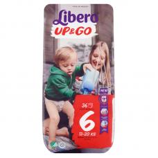 Libero Up&Go 6 (13-20 kg) bugyipelenka - 36 db