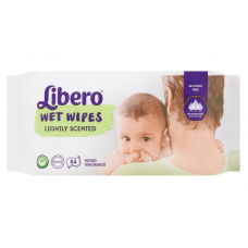 Libero Wet Wipes Lightly Scented 64 db