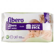 Libero Wet Wipes Quattro Pack - 256 db