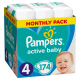 Pampers Active Baby 4 Maxi (9-14 kg) - 174 db