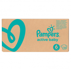Pampers Active Baby 6 (13-18 kg ) - 124 db