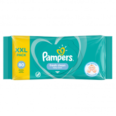 Pampers Sensitive baba törlőkendő 80 db