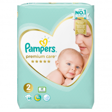 Pampers Premium Care 2 Mini (4-8 kg) - 68 db