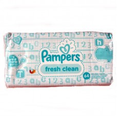 Pampers Fresh Clean törlőkendő 64 db
