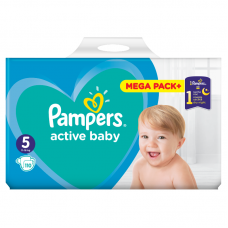 Pampers Active Baby 5 Junior (11-18 kg) - 110 db