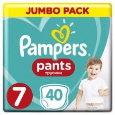 Pampers Pants bugyipelenka 7  (17kg +) - 40 db