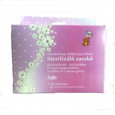 BabyBruin Sterilizáló zacskó - 5 db
