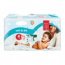 Soft&Dry pelenka 4 Maxi (7-18 kg) - 50 db