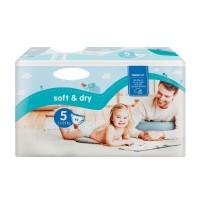 Soft&Dry pelenka 5 Junior (11-25 kg) - 44 db